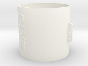 40-12E in White Processed Versatile Plastic
