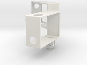 Hero3 Frame Dual in White Natural Versatile Plastic