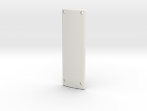 Poignee JPN Bas V1 in White Natural Versatile Plastic