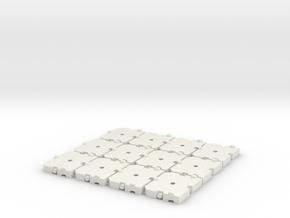 TC2800 Ballastplatten Zusatz in White Natural Versatile Plastic