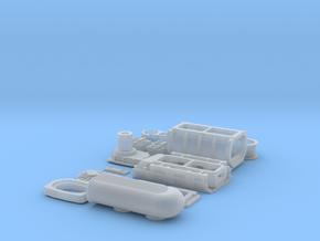 1 12 426 Hemi GMC Blower System in Smooth Fine Detail Plastic
