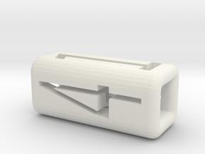 Big Dice3 in White Natural Versatile Plastic
