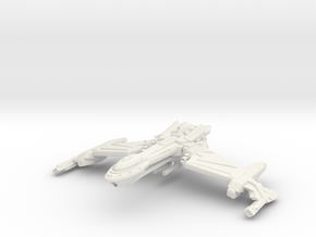 Birdstorm Class Battleship in White Natural Versatile Plastic