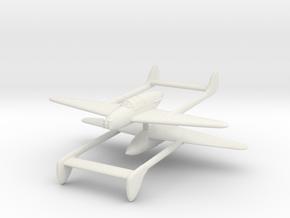1/300 Gloster F18/37 (x2) in White Natural Versatile Plastic