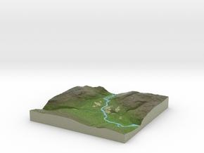 Terrafab generated model Tue Oct 01 2013 19:12:03  in Full Color Sandstone