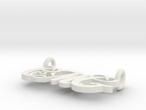 Cmghoriz in White Natural Versatile Plastic