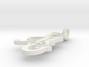 Cmg3 in White Natural Versatile Plastic