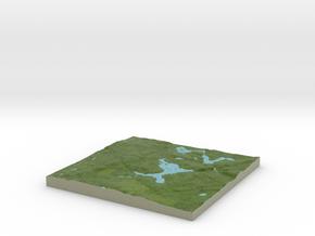 Terrafab generated model Mon Sep 30 2013 21:58:43  in Full Color Sandstone