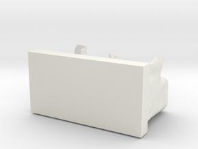 Escalierdomisocle in White Natural Versatile Plastic