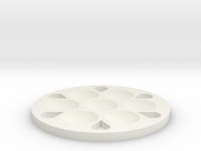 Palette in White Natural Versatile Plastic