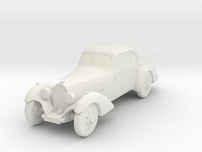 Bugatti 43  in White Natural Versatile Plastic