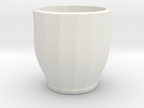 red cap cup 1 in White Natural Versatile Plastic