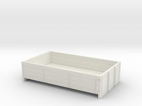 55n2 long  3 plank dropside  in White Natural Versatile Plastic