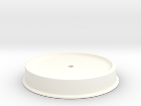 Lift Fan Adapter in White Processed Versatile Plastic