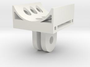 Replay Xd1080 to GoPro Mount - beta in White Natural Versatile Plastic