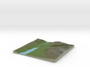 Terrafab generated model Thu Nov 07 2013 12:38:44  in Full Color Sandstone
