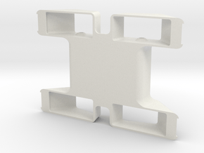 Mel Chassis in White Natural Versatile Plastic