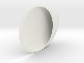 Biaxial Indicatrix in White Natural Versatile Plastic