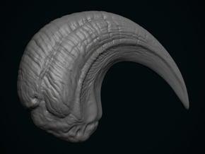 JP3 Velociraptor Claw in White Natural Versatile Plastic
