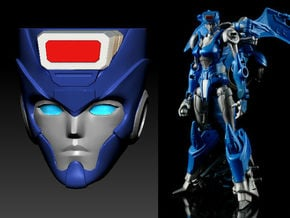 CHROMIA homage Tempest Head for RID RC in Smooth Fine Detail Plastic