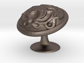 Sculpting Test in Polished Bronzed Silver Steel
