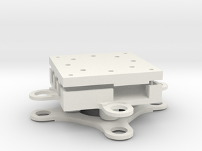 Storm32 3 Axis Gimbal - Yaw Mount Assembly in White Natural Versatile Plastic