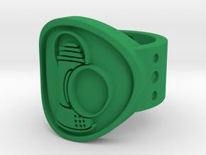 Alan Scott FF Sz 6 in Green Processed Versatile Plastic