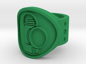 Alan Scott FF Sz 5 in Green Processed Versatile Plastic