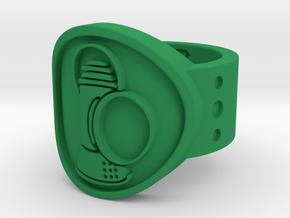 Alan Scott FF Sz 7 in Green Processed Versatile Plastic