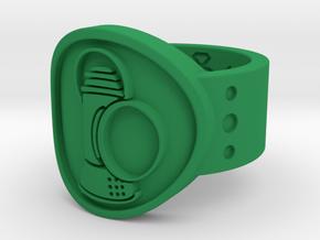 Alan Scott FF Sz 9 in Green Processed Versatile Plastic