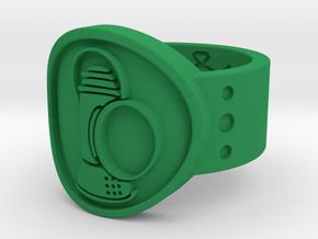 Alan Scott FF Sz 10 in Green Processed Versatile Plastic