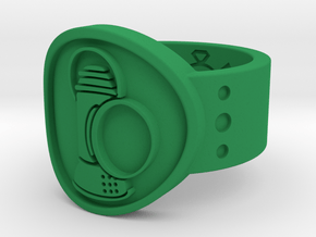 Alan Scott FF Sz 11 in Green Processed Versatile Plastic