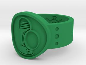Alan Scott FF Sz 15 in Green Processed Versatile Plastic