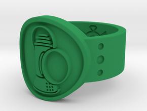 Alan Scott FF Sz 13 in Green Processed Versatile Plastic