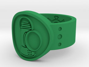 Alan Scott FF Sz 14 in Green Processed Versatile Plastic
