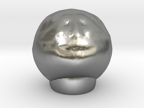 Sculptris Tinkercad mans head in Natural Silver