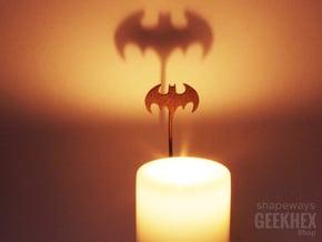 Batman 1992 - Spotlight Candle Attachment in Polished Bronze Steel