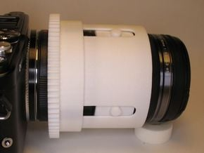 Zoomgear for Olympus M.ZUIKO 12‑50 and PT-EP10 in White Processed Versatile Plastic