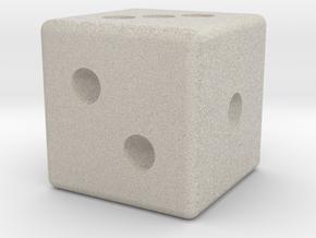 D3 Dice in Natural Sandstone