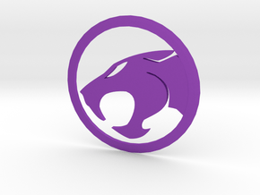 MK5 & MK6 Volkswagen Golf Thundercats Rear Emblem in Purple Processed Versatile Plastic