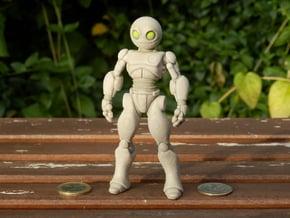 Retrobot in Full Color Sandstone