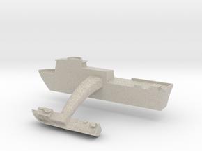 Swift Boat Cufflinks (Pair) in Natural Sandstone