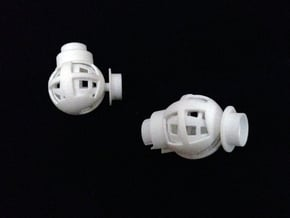 Elbow Joint for 1/2 Inch PVC Pipe in White Natural Versatile Plastic