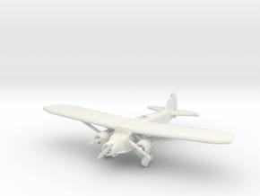 Caproni Ca.133 1/285 6mm in White Natural Versatile Plastic