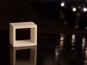 1:24 Atelier Side Table in White Natural Versatile Plastic