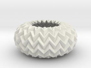 Miura Ball / sphere Expanded Decor Lite in White Natural Versatile Plastic