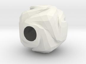 Lamp shade(Alumide) in White Natural Versatile Plastic