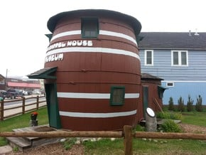 Pickle Barrel House Museum in Smooth Fine Detail Plastic