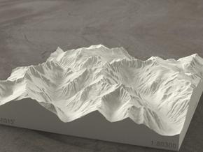 6'' Picket Range, Washington, USA, Sandstone in Natural Sandstone