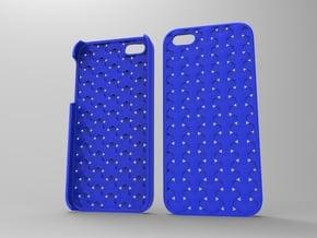 Iphone5 Case 2_4 in Blue Processed Versatile Plastic
